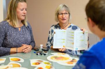 Diabetologie Praxis Potsdam - Schulung mit Sabine Rybacki