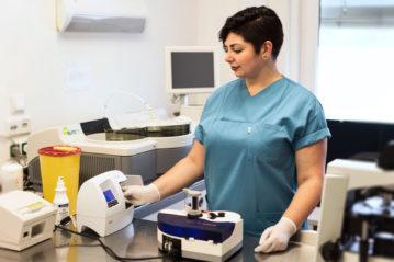 Diabetologie Praxis Potsdam - Eigenes Labor