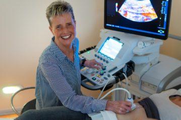 Diabetologie Praxis Potsdam - Ultraschall durch Dr. Barbara Baumann
